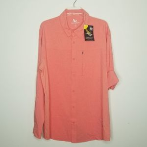 Men's Field & Stream Long Sleeve Fishing Shirt XL